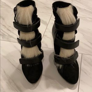 Shoes - Isabel marant booties with fur